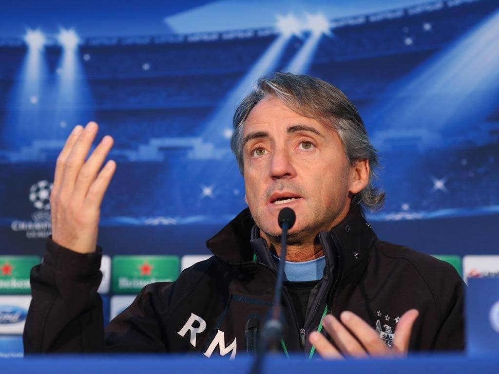 <b>Roberto Mancini</b><br/> Reacting to questions from the media about his future, a visibly angered Mancini said: 'I don't understand why you continue to ask me (about) last year, last month. This is finished.<br/> 'Why? Why, for which reason? Why do you