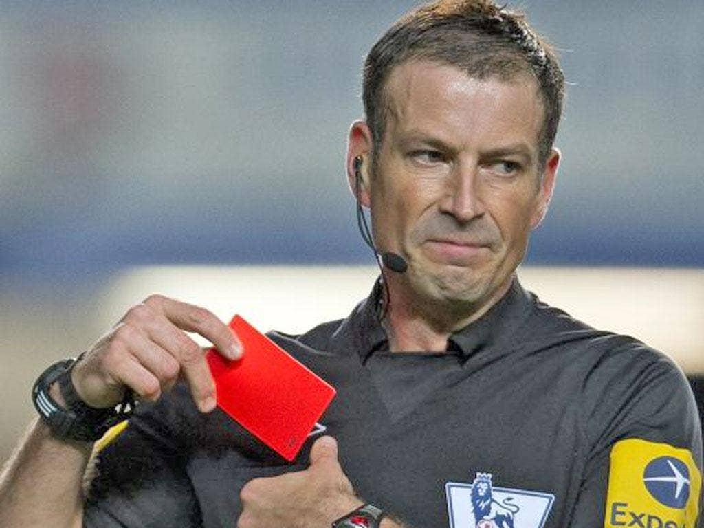 Mark Clattenburg: The under-fire referee has yet to be given a date to be interviewed by the FA