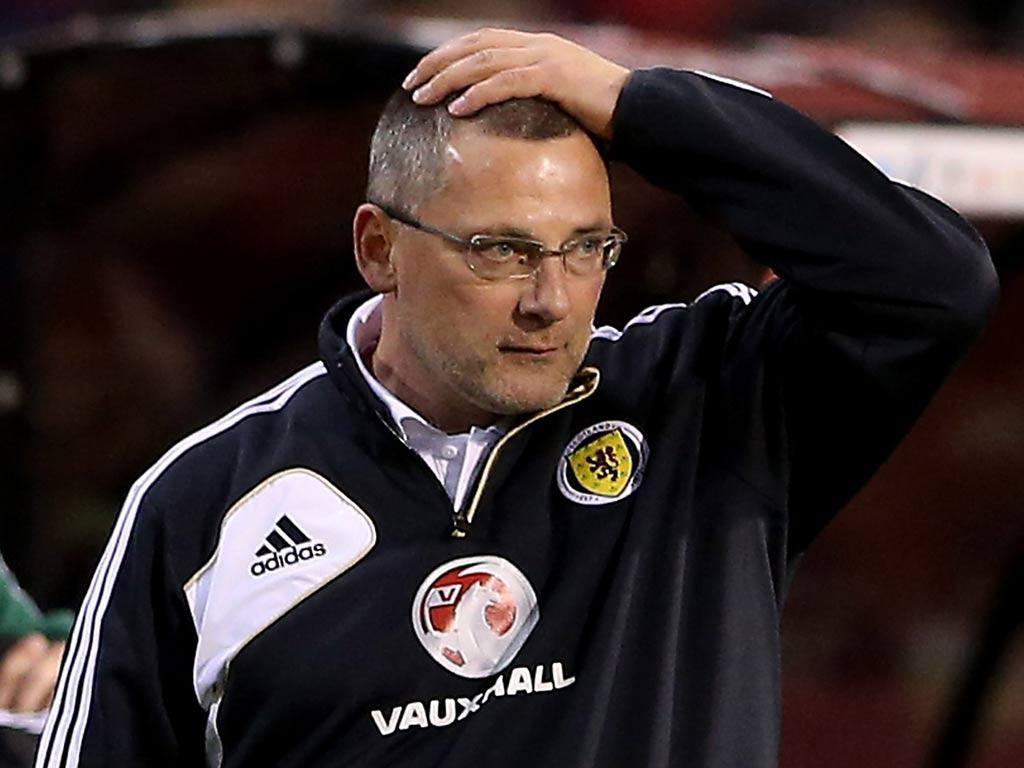 Former Scotland manager Craig Levein