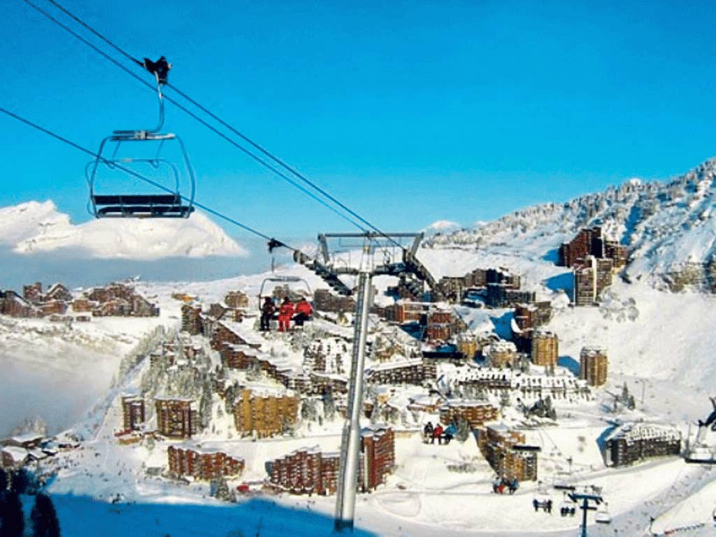 Slope off: Avoriaz is home to a new waterpark