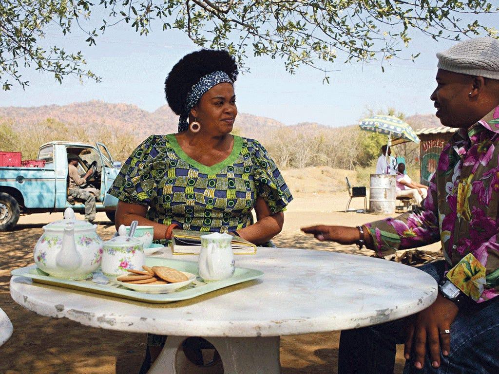 Murder, she solved:Jill Scott as Mma Precious Ramotswe