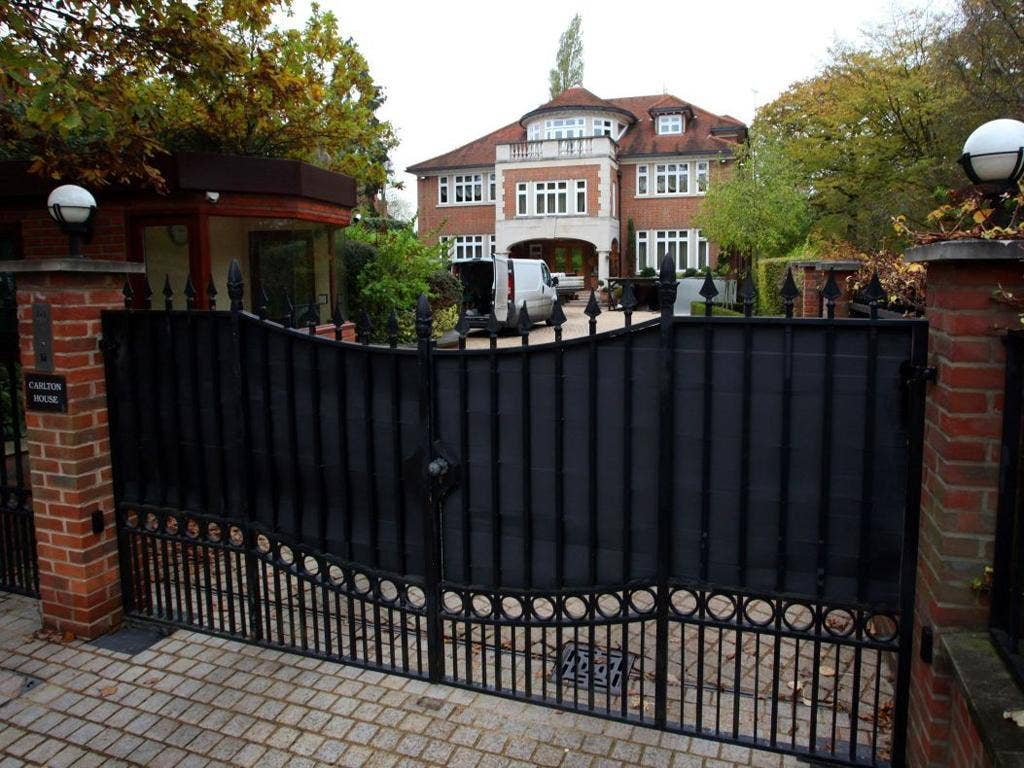 Among the holdings set to be seized is Carlton House, a nine-bedroom mansion bought by Ablyazov in 2009 to house his wife and four children on The Bishop's Avenue, the Hampstead street whose high proportion of plutocrats' palaces has earned it the name Bi