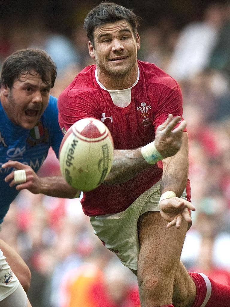 Lions scrum-half Mike Phillips has been left out of the side