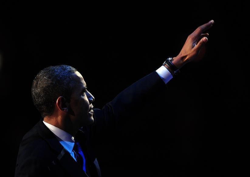 Victory for Barack Obama