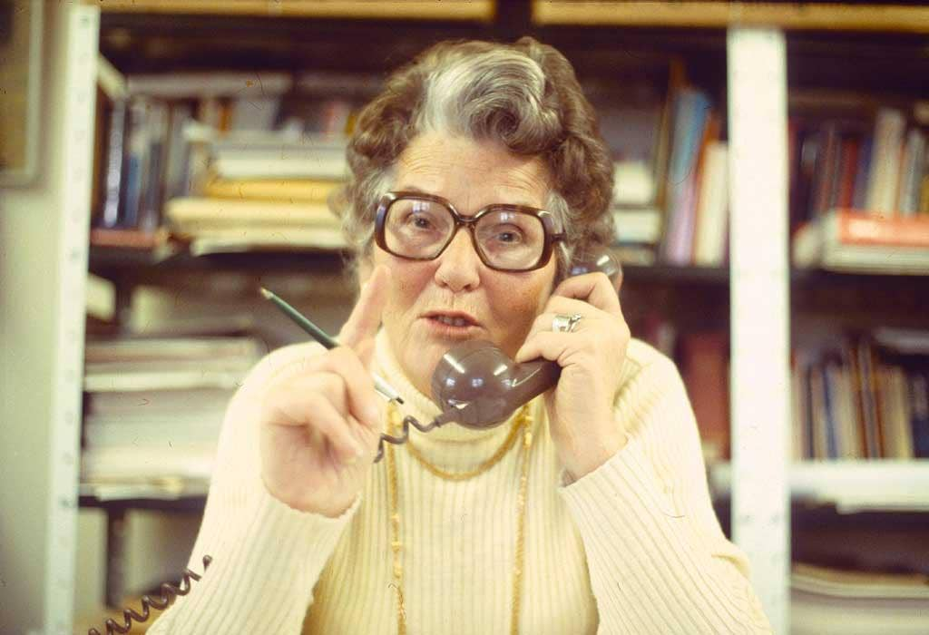 A call for morality: Mary Whitehouse