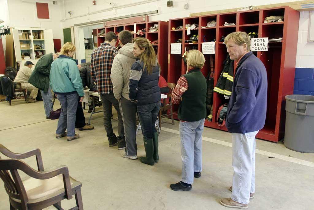 Predictable behaviour? Voters in New Jersey