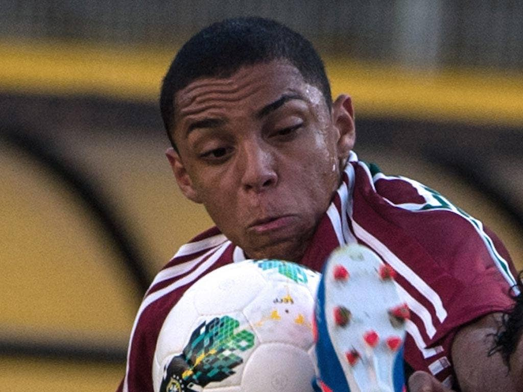 Fluminense full-back Wallace