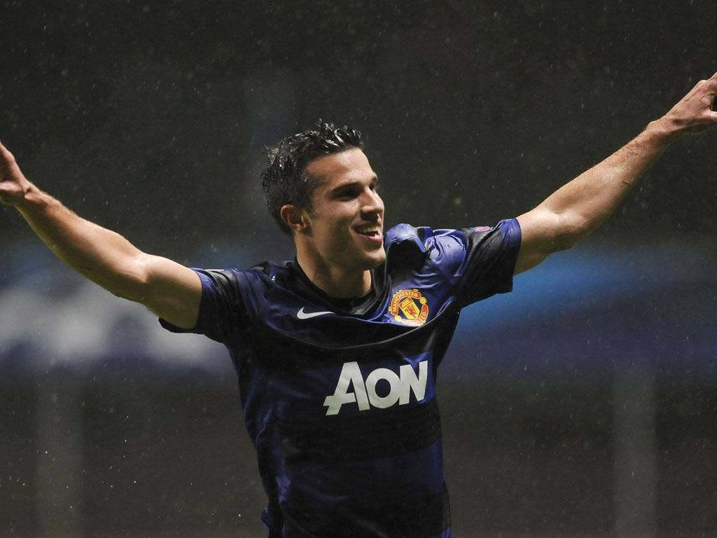 Robin van Persie: Has scored 11 goals for United since his £24m move from Arsenal