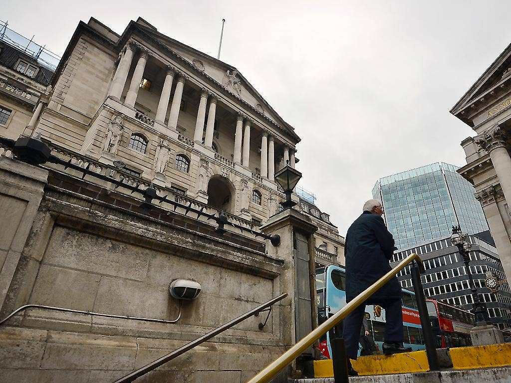 Emerging from the gloom? The Bank of England in London