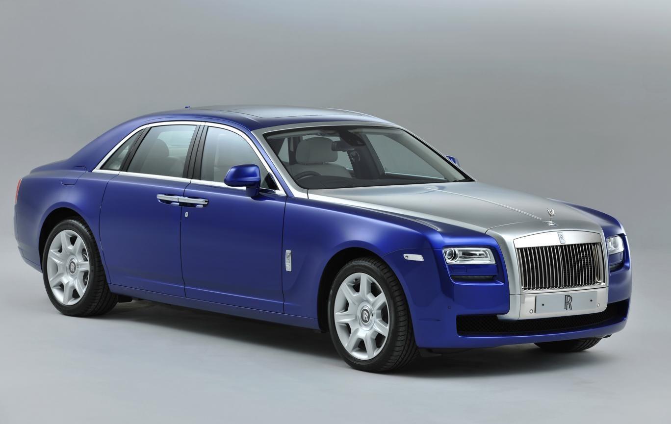 Rolls-Royce Motor Cars bespoke Mazarine Blue Ghost