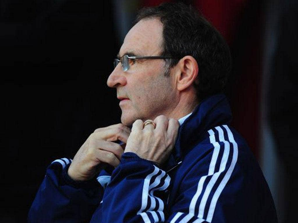 Martin O'Neill's job appears safe despite a poor start to the season