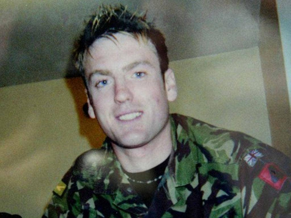 Pte Phillip Hewett, 21, was killed by a roadside bomb in Iraq in 2005. His mother says the Ministry of Defence failed to protect him