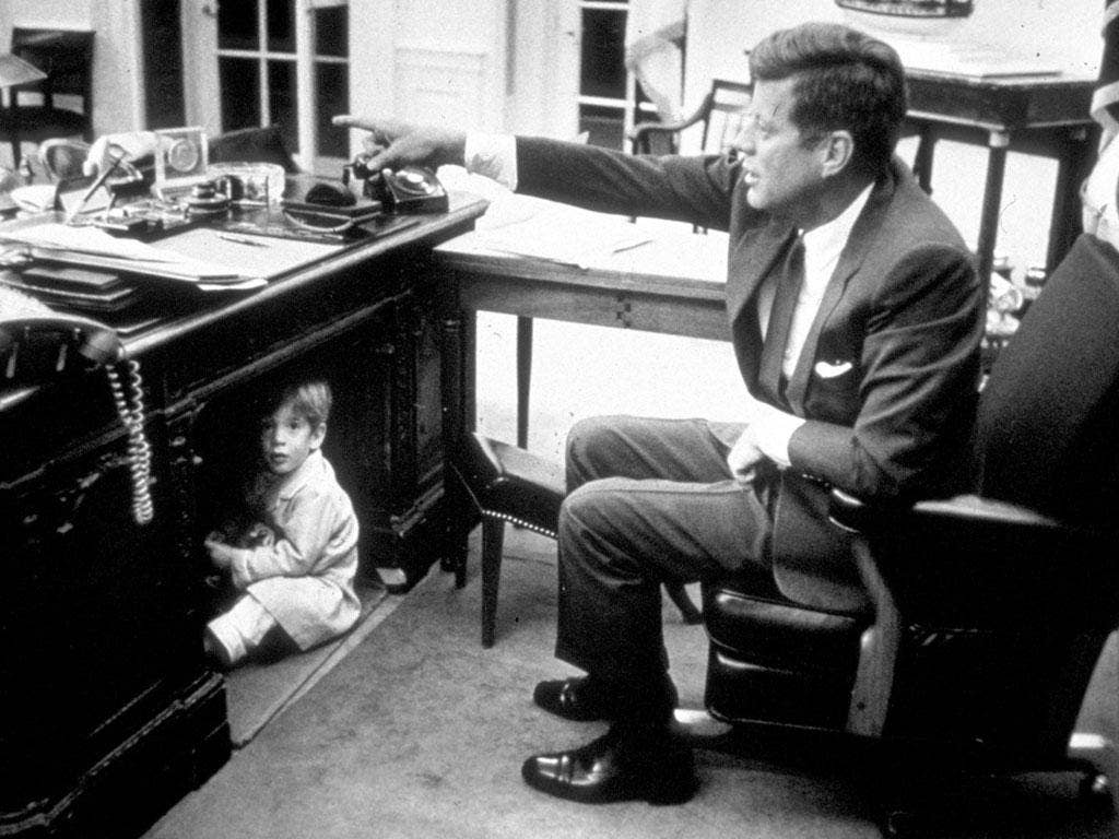 Of the modern children of the White House, none has met tragedy, save for John F Kennedy Jr, the toddler famously pictured crawling under his father's Oval Office desk