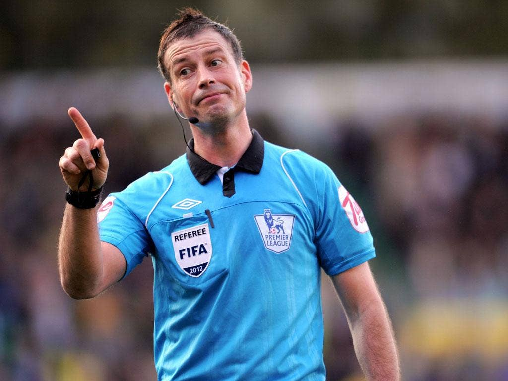 Decision time: Mark Clattenburg is due to discover his fate this week