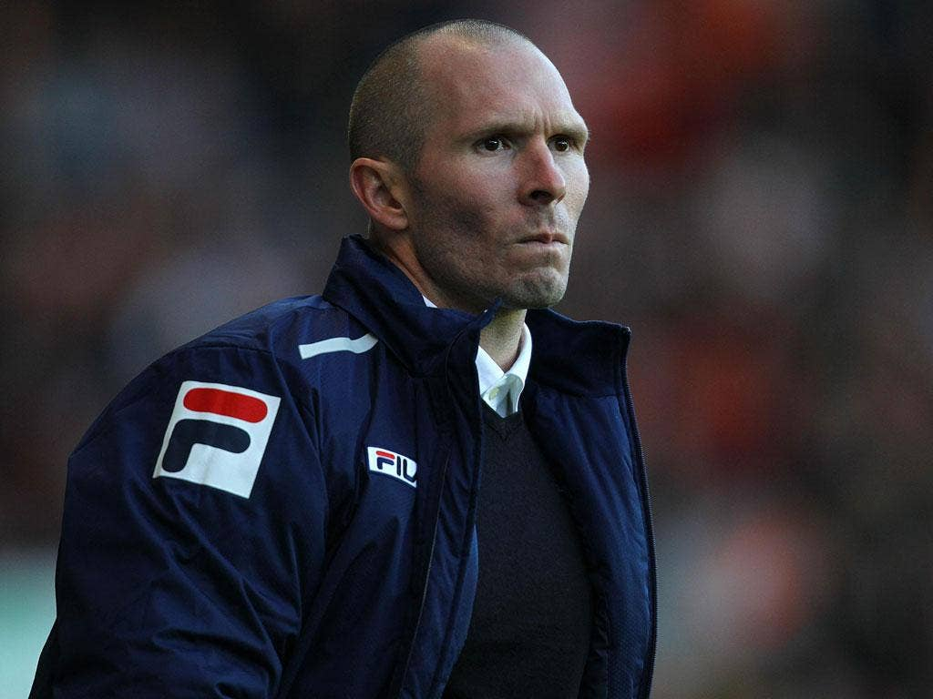 New broom: Blackpool's new manager Michael Appleton calls for a clear-out