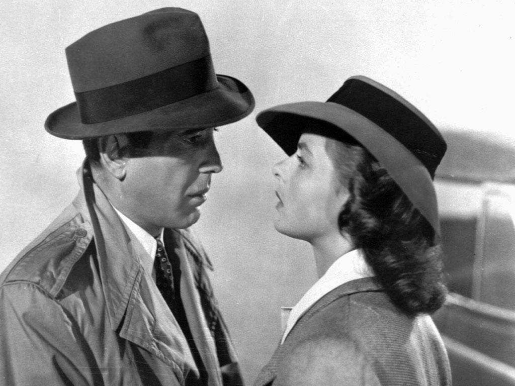 Casablanca was referenced as one of the films that produced some of the most long-lived influences