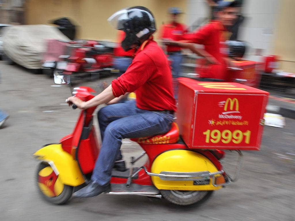 McDonald's is testing the fast-food delivery market in New York