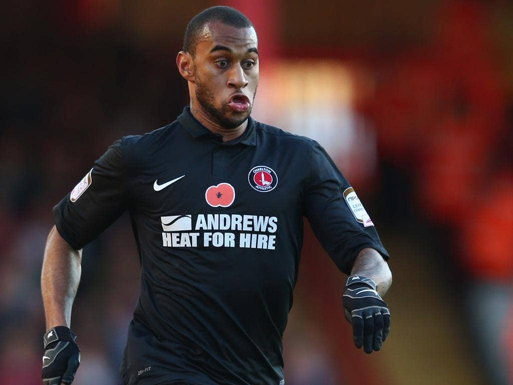 Danny Haynes: The Charlton striker scored against his former club Bristol City yesterday