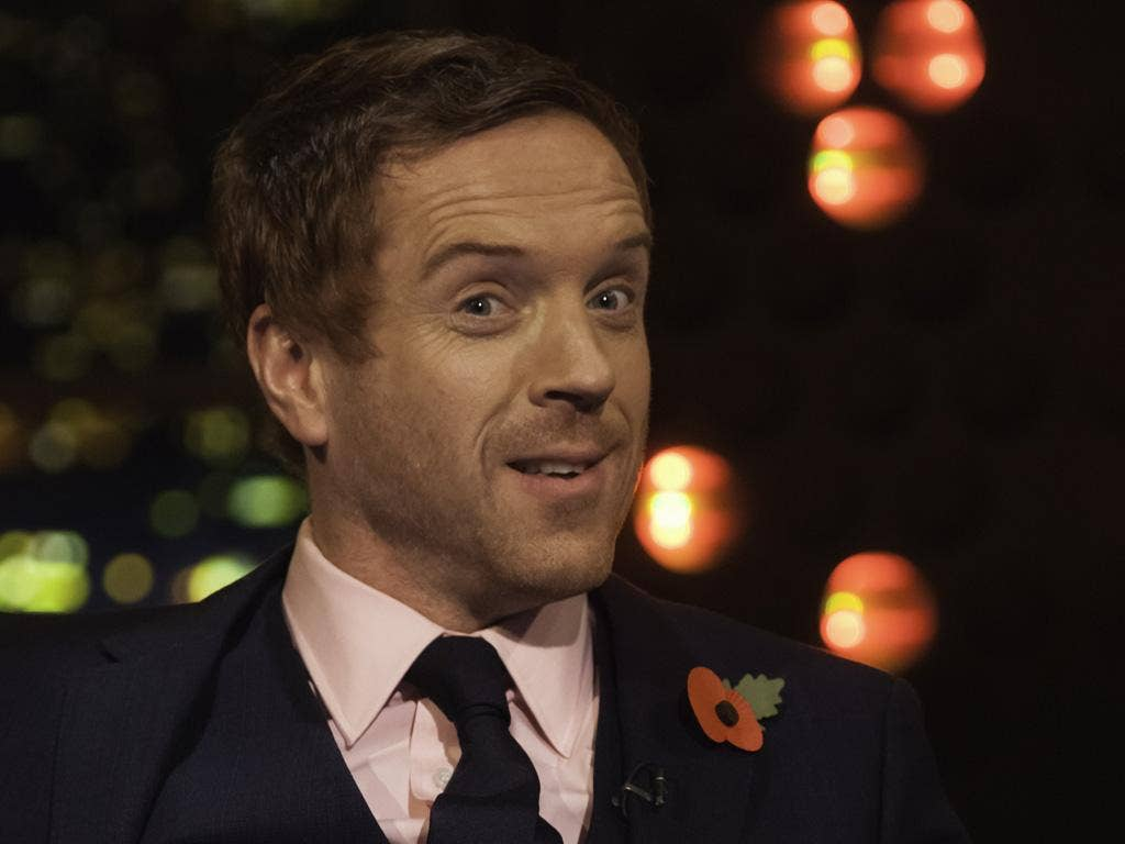 """Damian Lewis revealed to Jonathan Ross that he had given a box-set of the programme to the President, signing it: """"From one Muslim to another."""""""