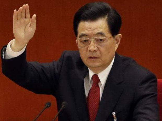 China's president Hu Jintao has stepped aside as ruling party leader