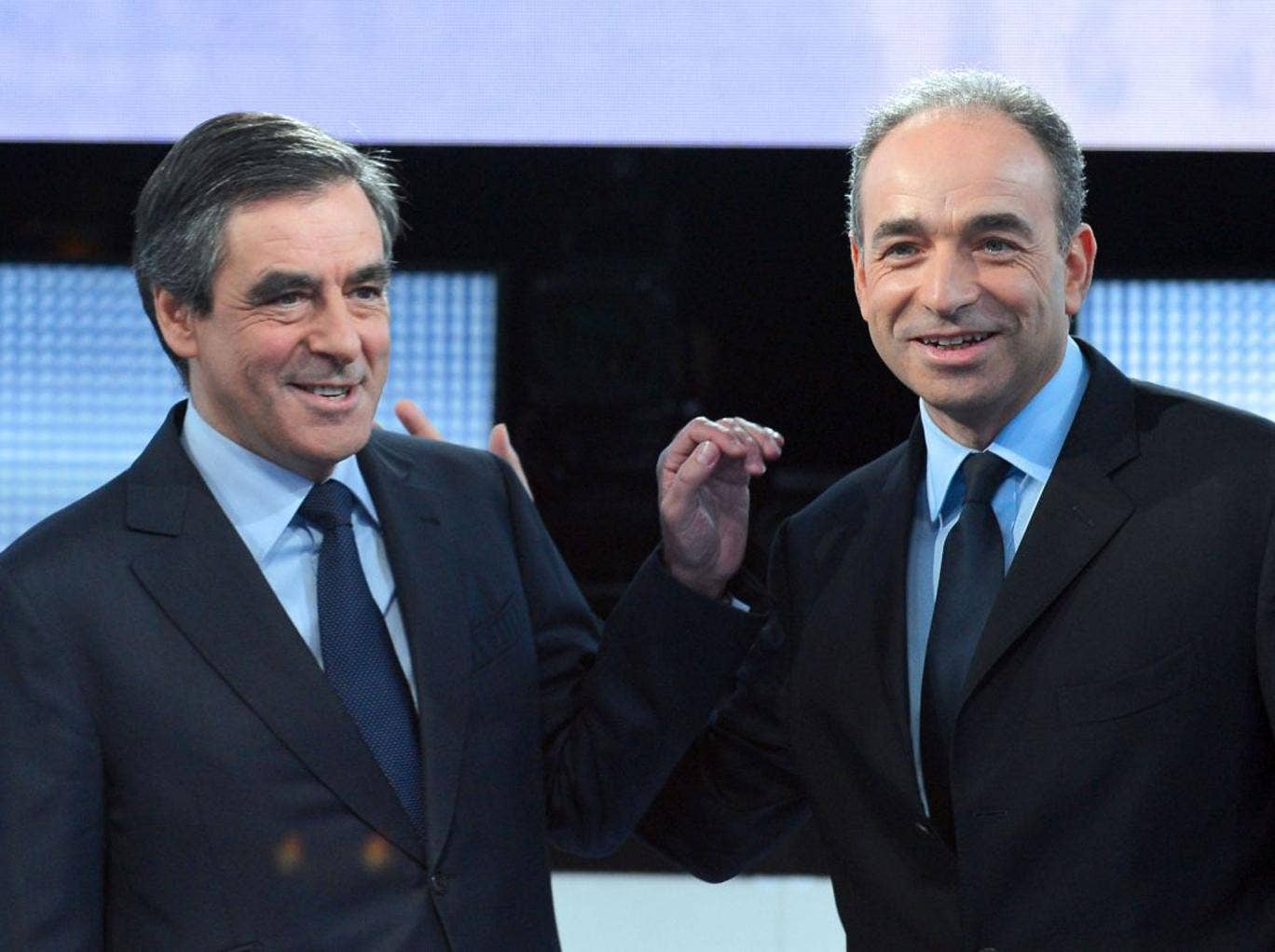 François Fillon and Jean-François Copé are vying for the UMP job