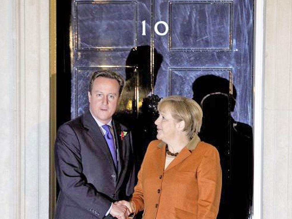 David Cameron's behaviour towards the EU has exasparated his German counterpart, Angela Merkel