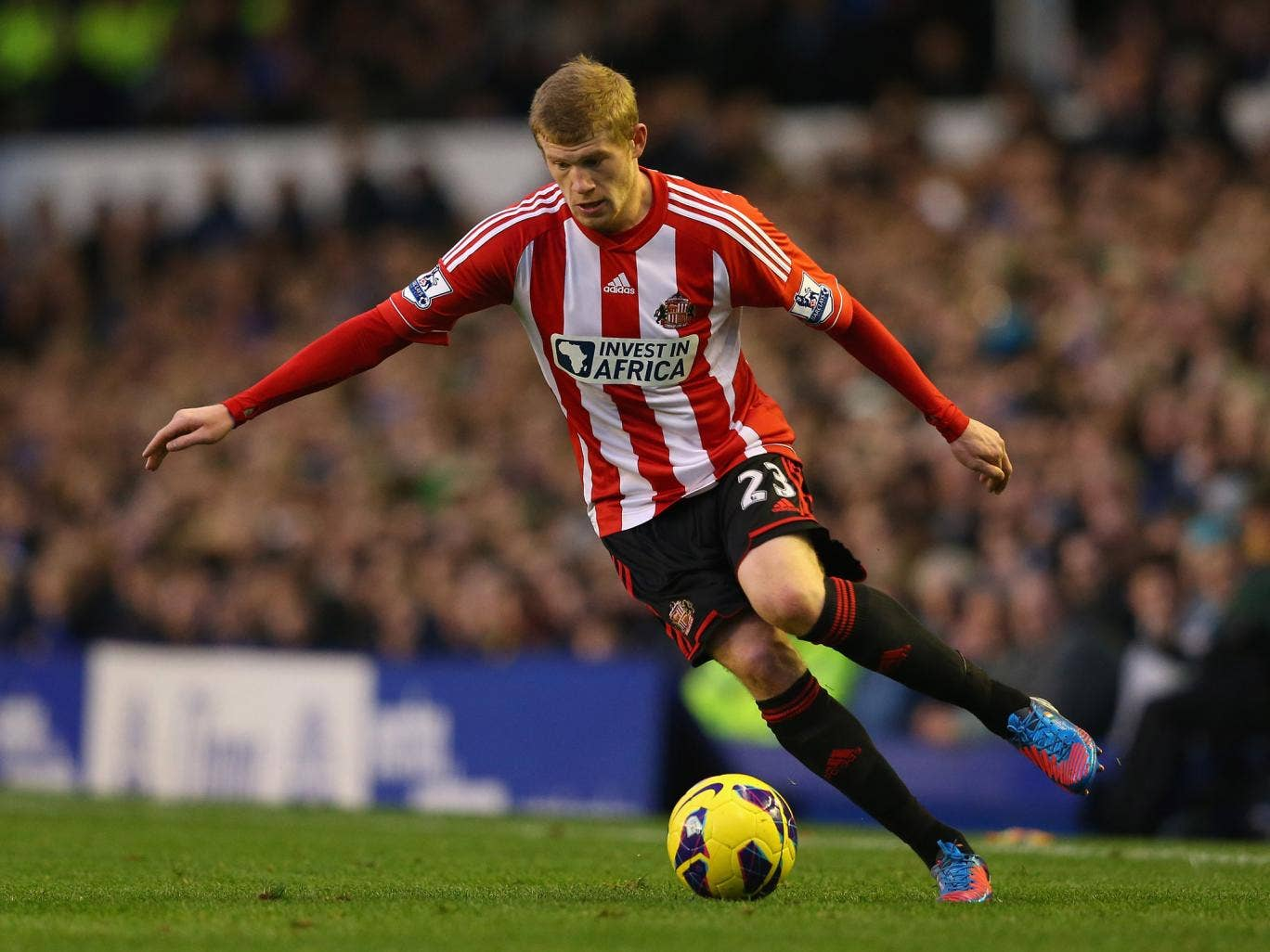 James McClean chose not to wear a Remembrance Day poppy on his shirt last weekend against Everton
