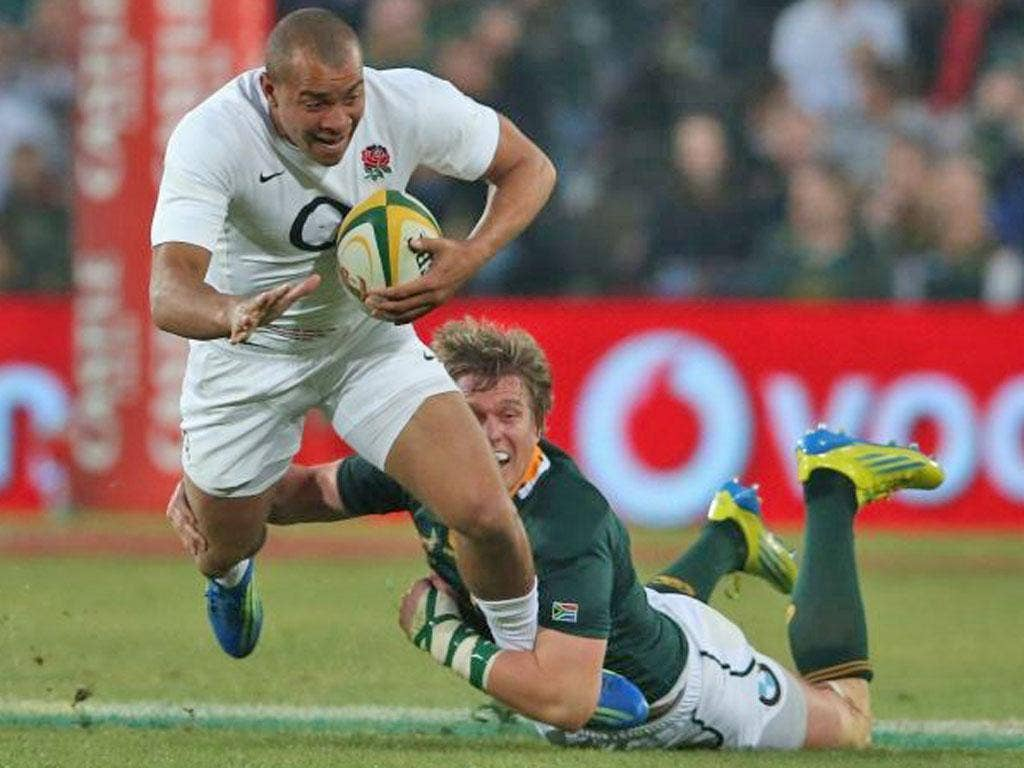 Jonathan Joseph is likely to start at centre for England on Saturday