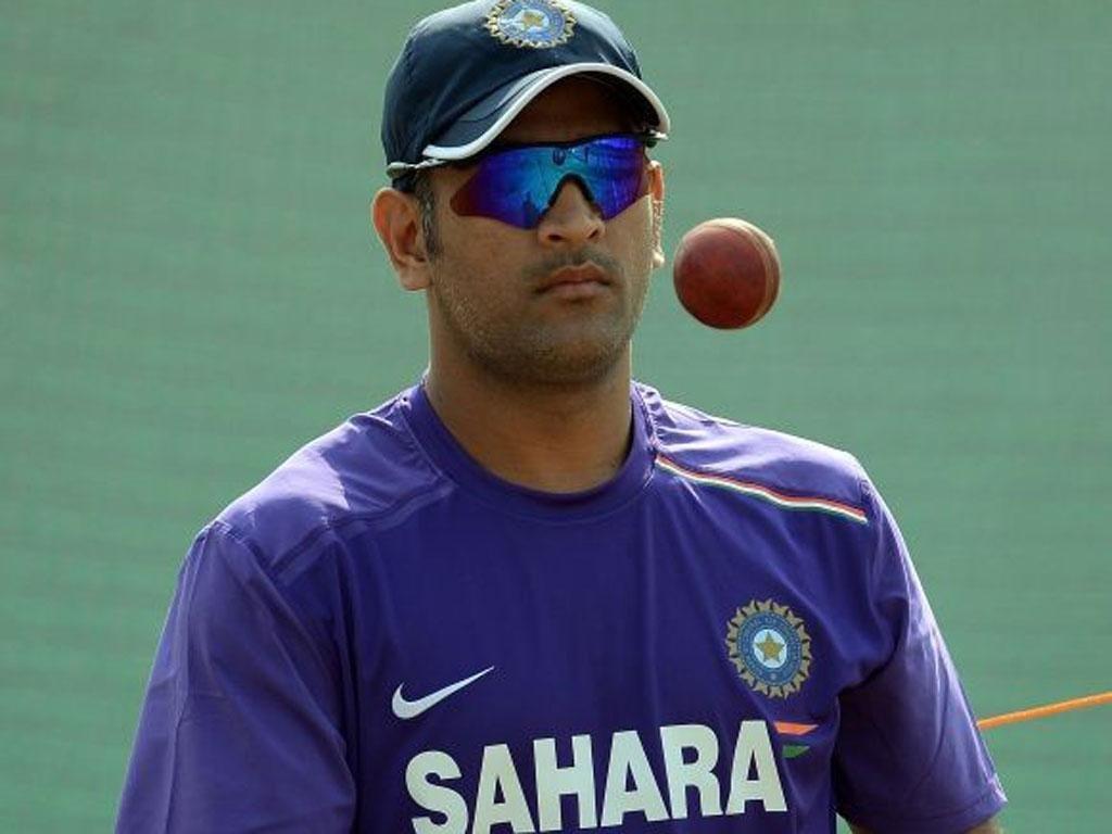 Mahendra Singh Dhoni, captain of India
