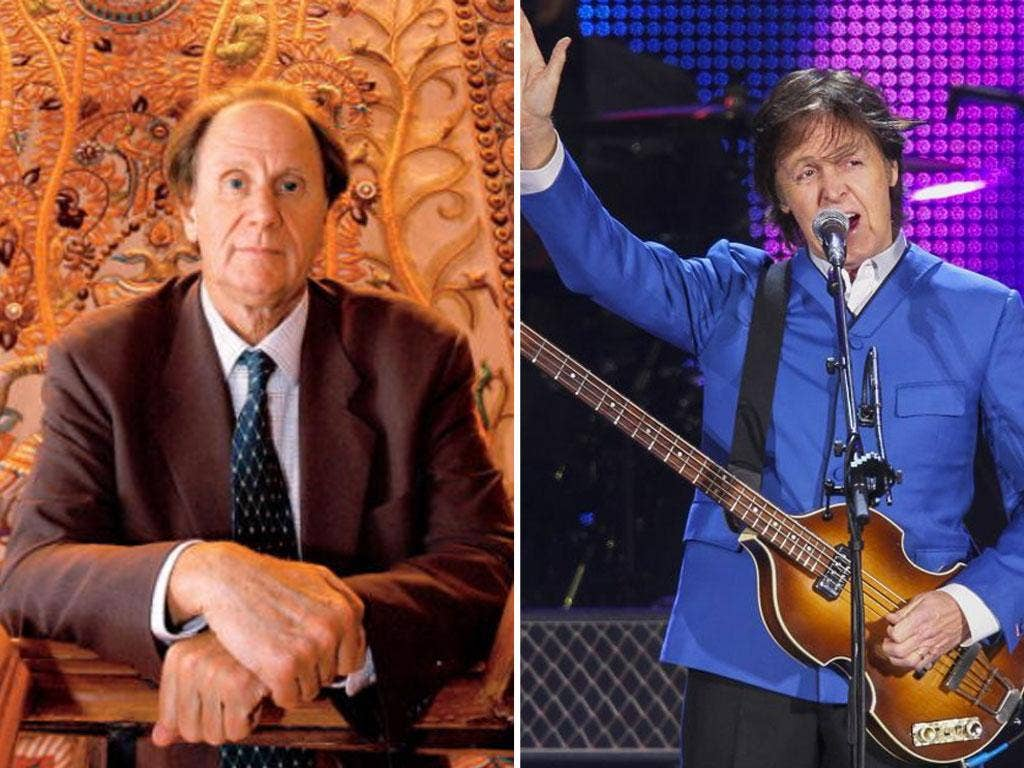 Private equity boss David Bonderman celebrated his 70s with Sir Paul McCartney