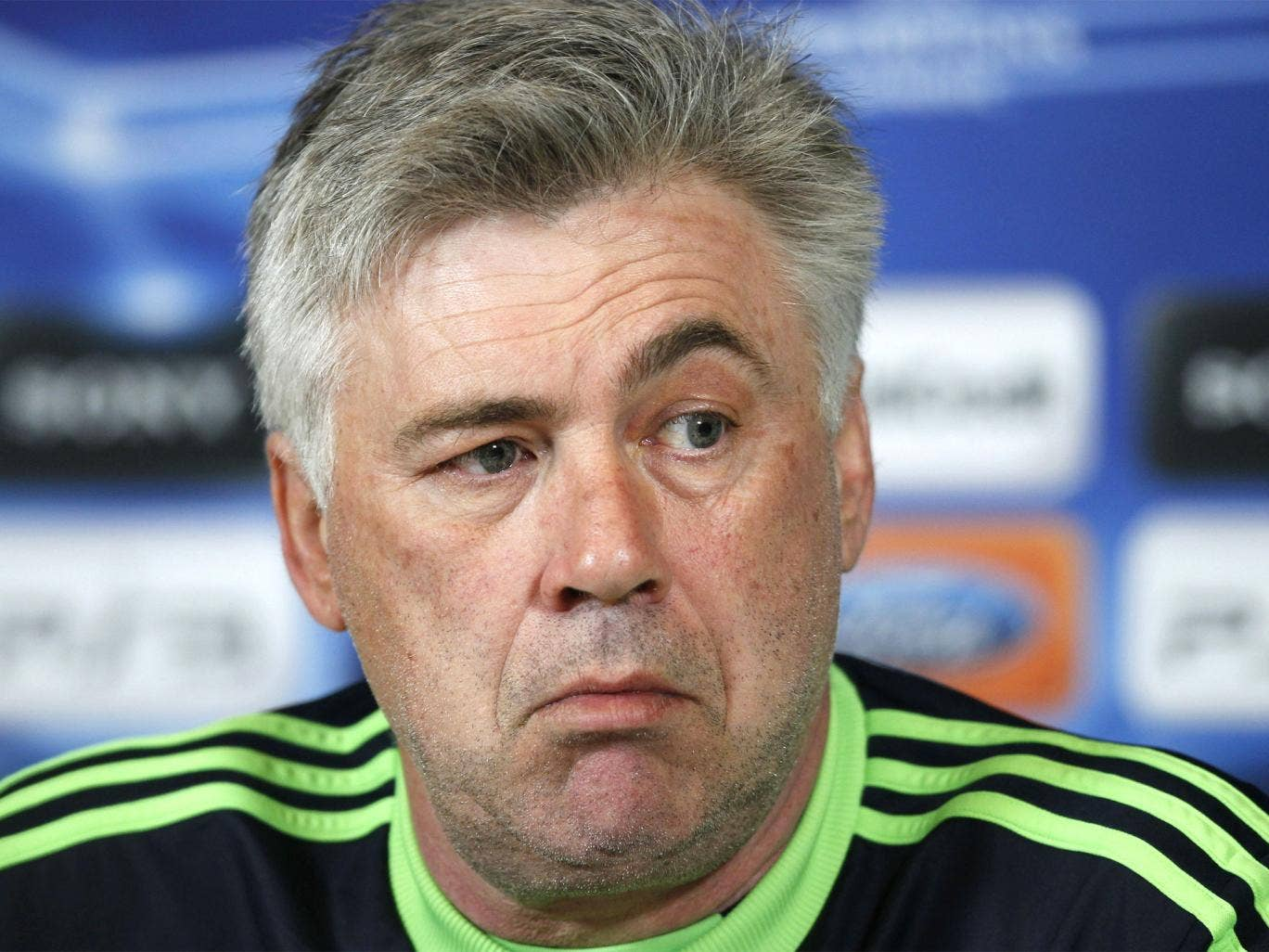 Carlos Ancelotti lasted nearly two years in the hot seat