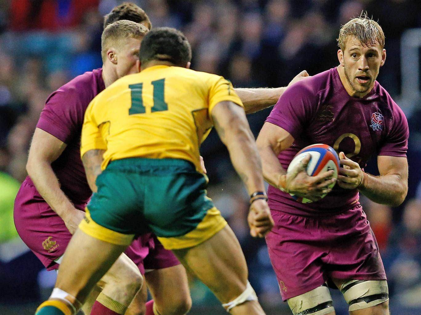 Chris Robshaw will have learned a lot from the defeat by Australia