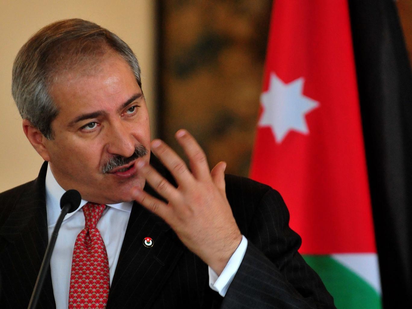 Foreign Minister Nasser Judeh