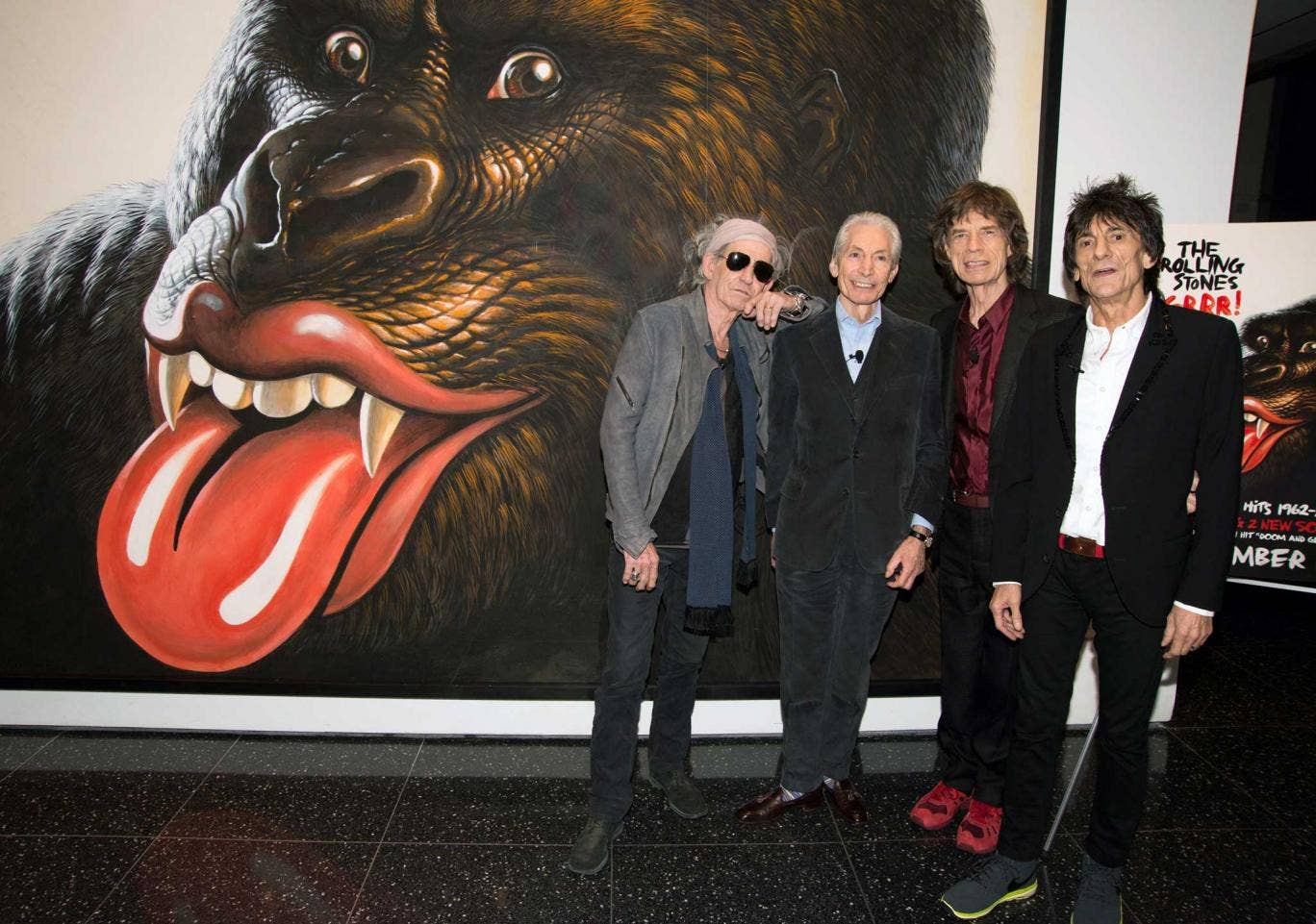 Free spirit: The Rolling Stones are celebrating their 50th anniversary