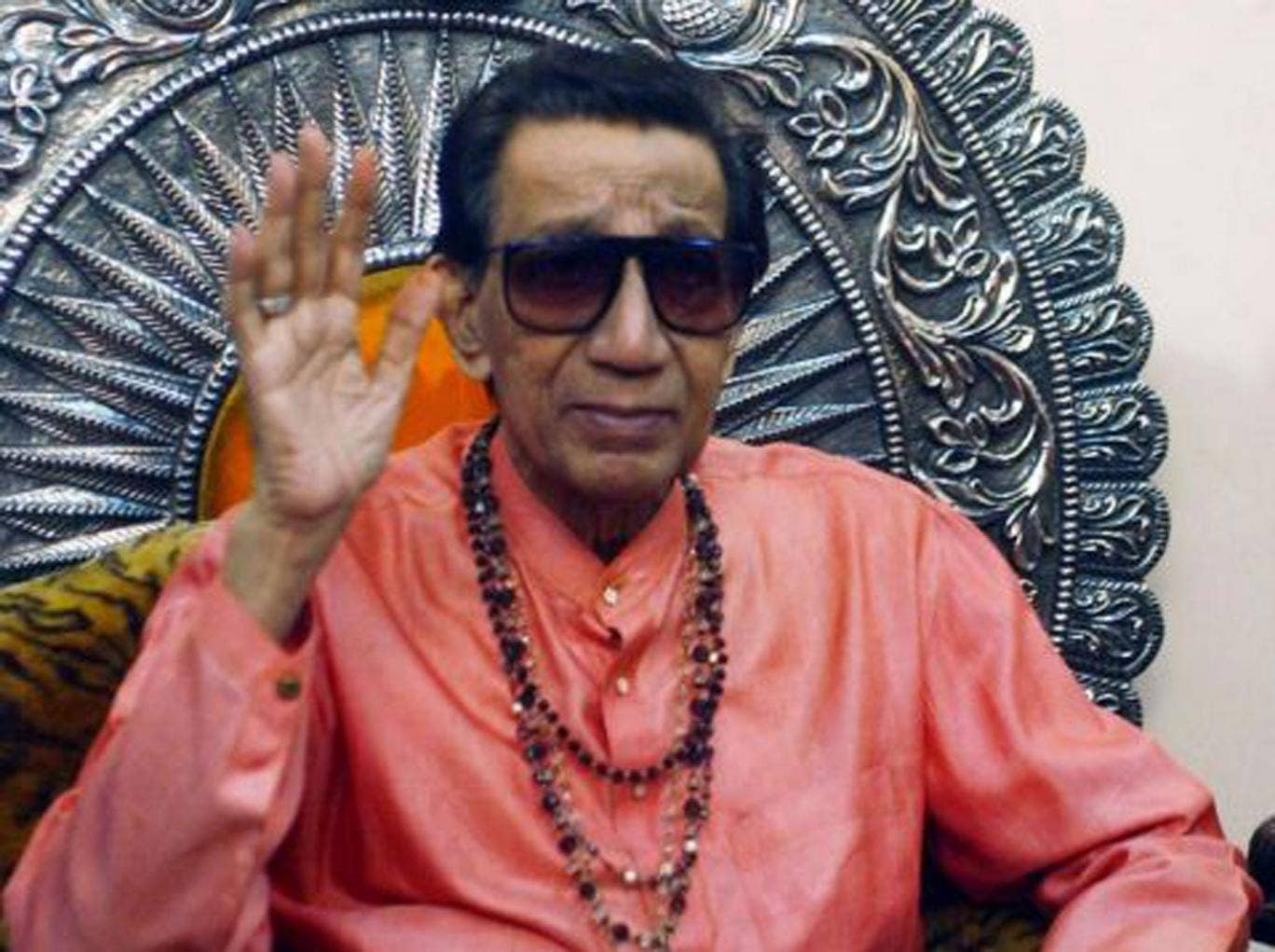 The Boss of Bombay: Thackeray on his throne in 2002
