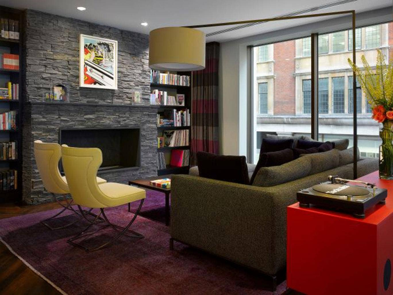 Take a seat: South Place's guest lounge