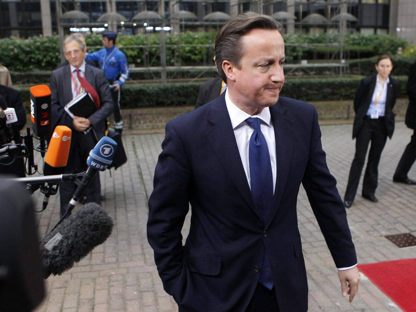 David Cameron had called for an extra €50bn of cuts in the spending programme for 2014-20