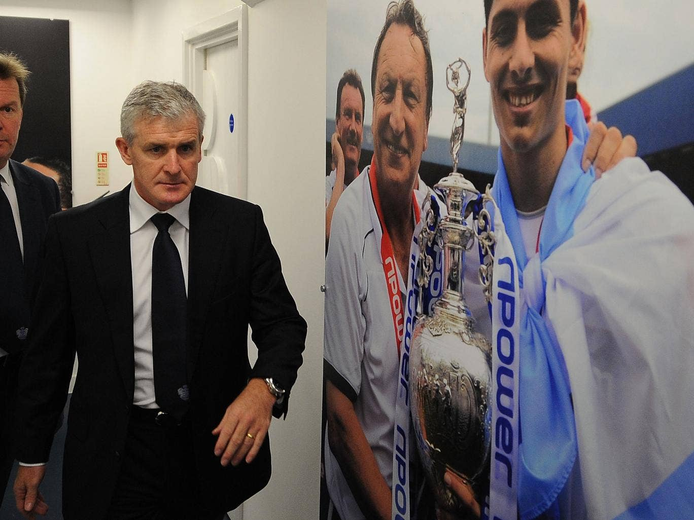 Mark Hughes replaces me as QPR manager back in January