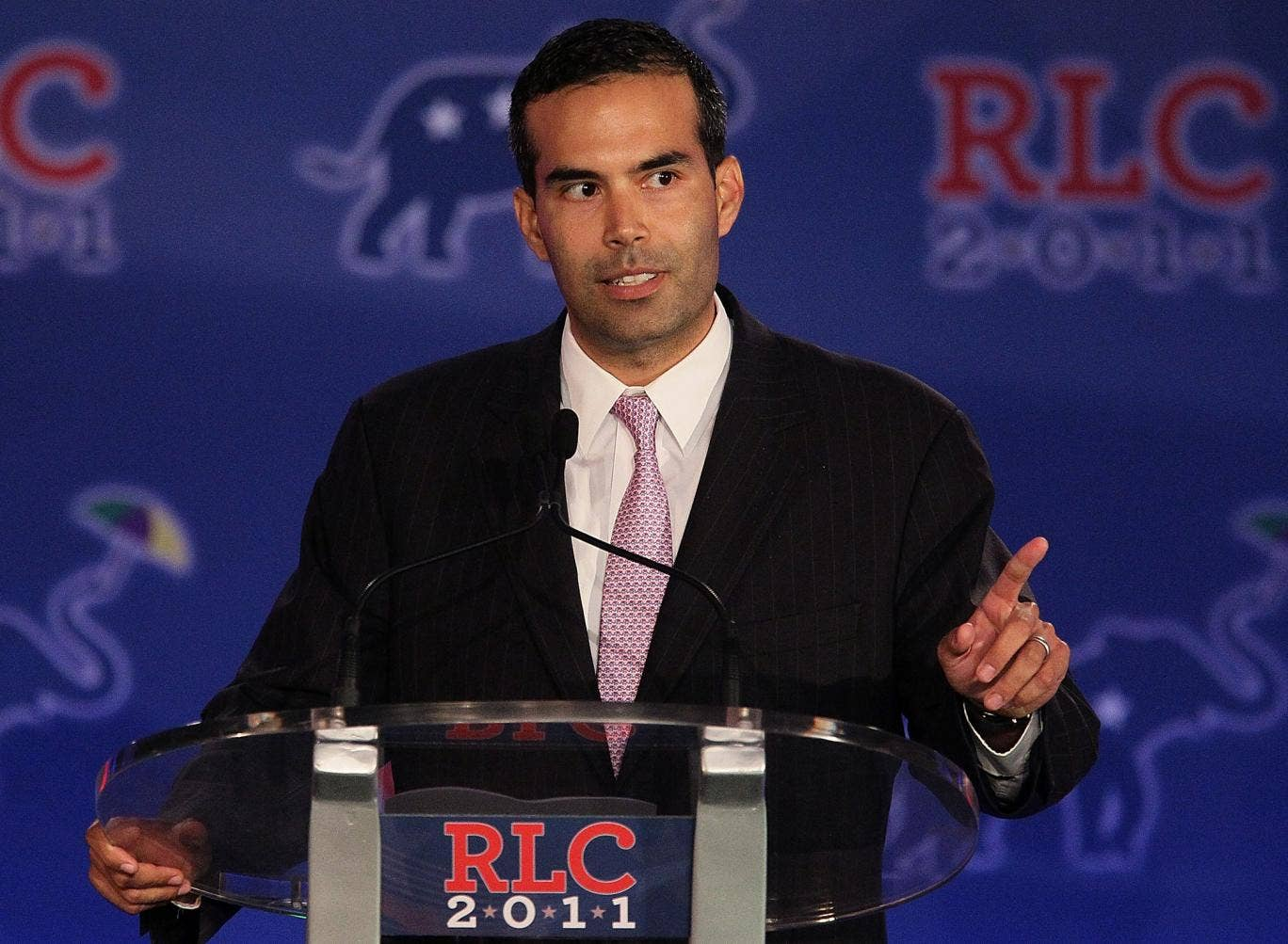 George P. Bush speaks during the 2011 Republican Leadership Conference