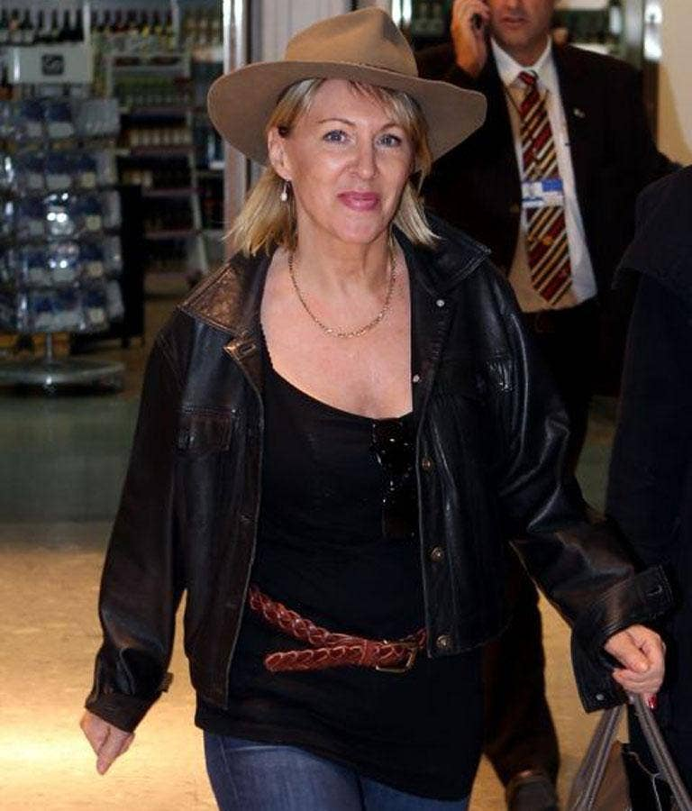 Nadine Dorries arrives back in Britain today to face the music after her appearance on Iím A Celebrity... Get Me Out of Here!