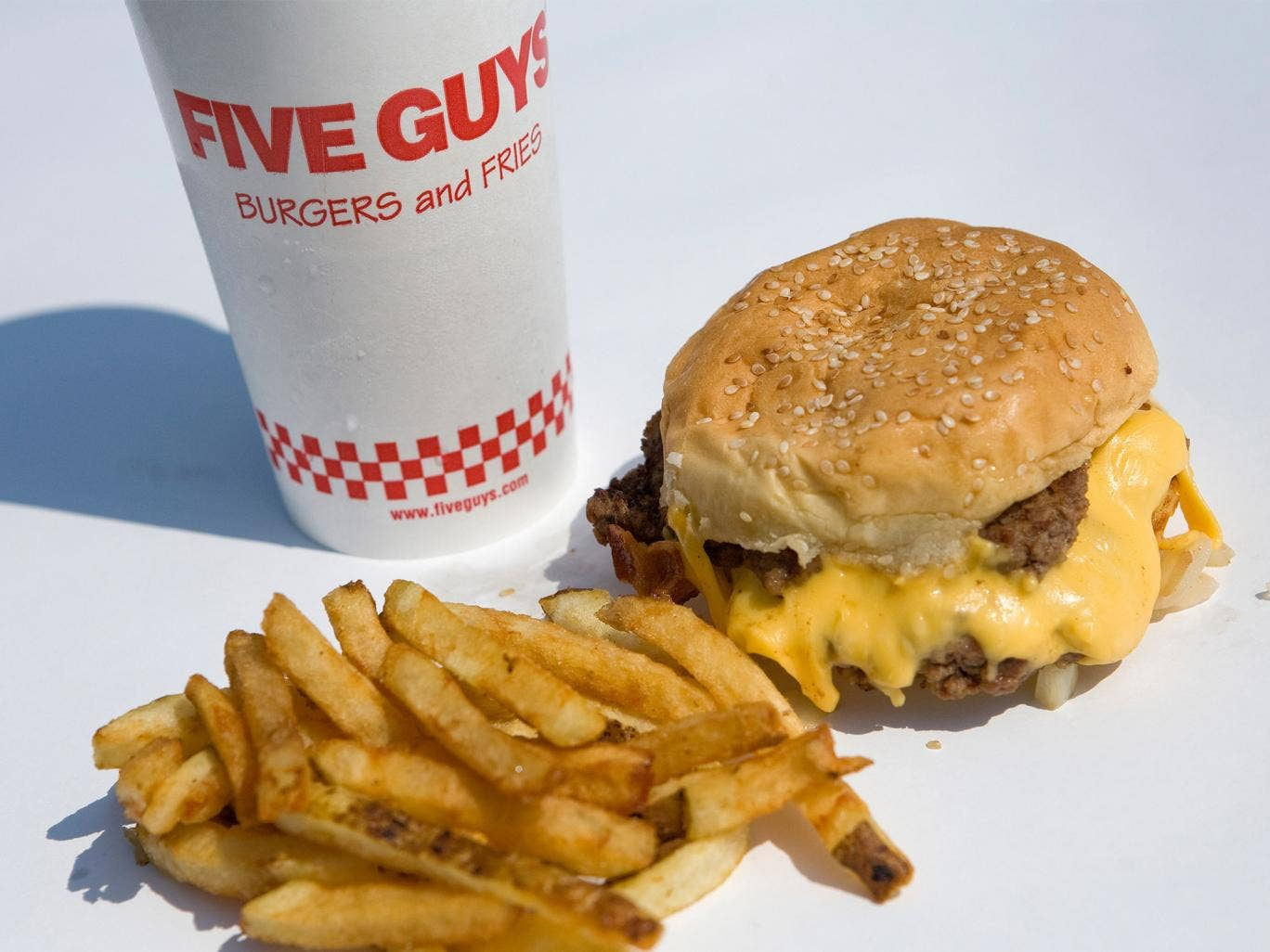 Five Guys are planning a British invasion