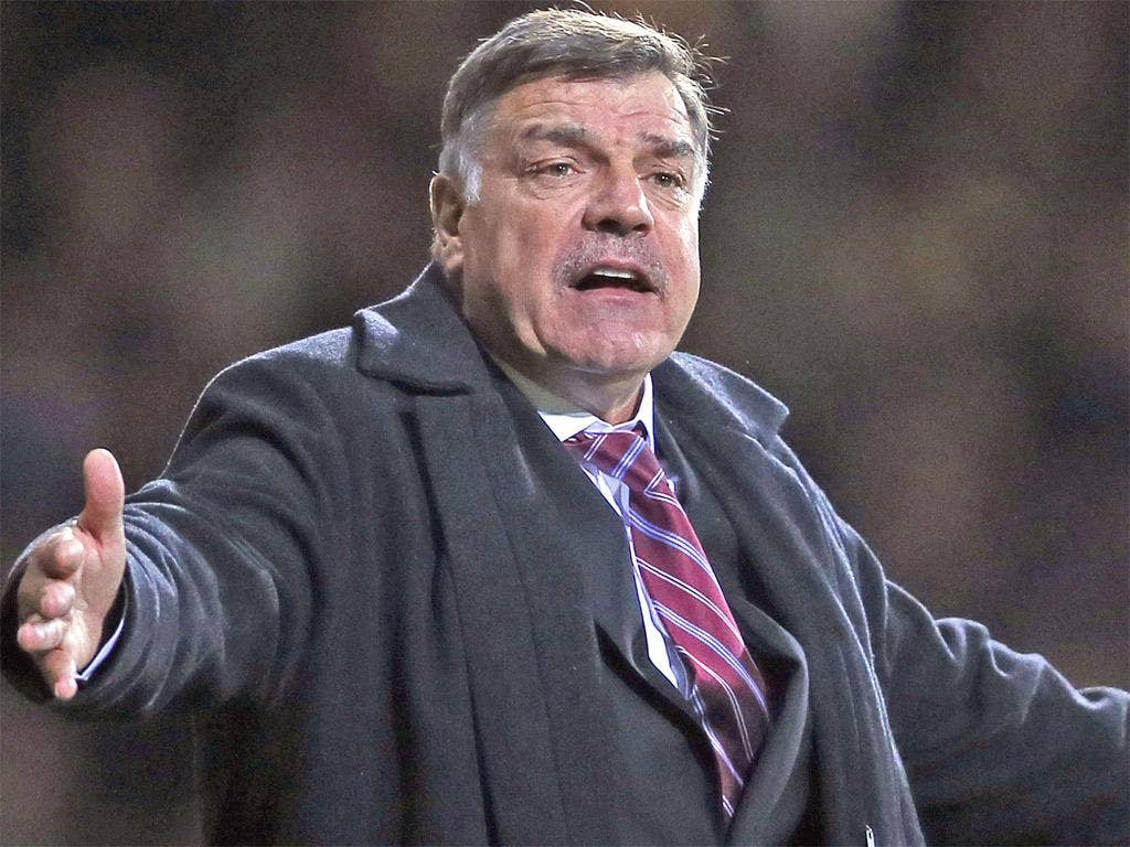 Sam Allardyce: Condemned anti-Semitic chants by a 'small minority' of West Ham fans