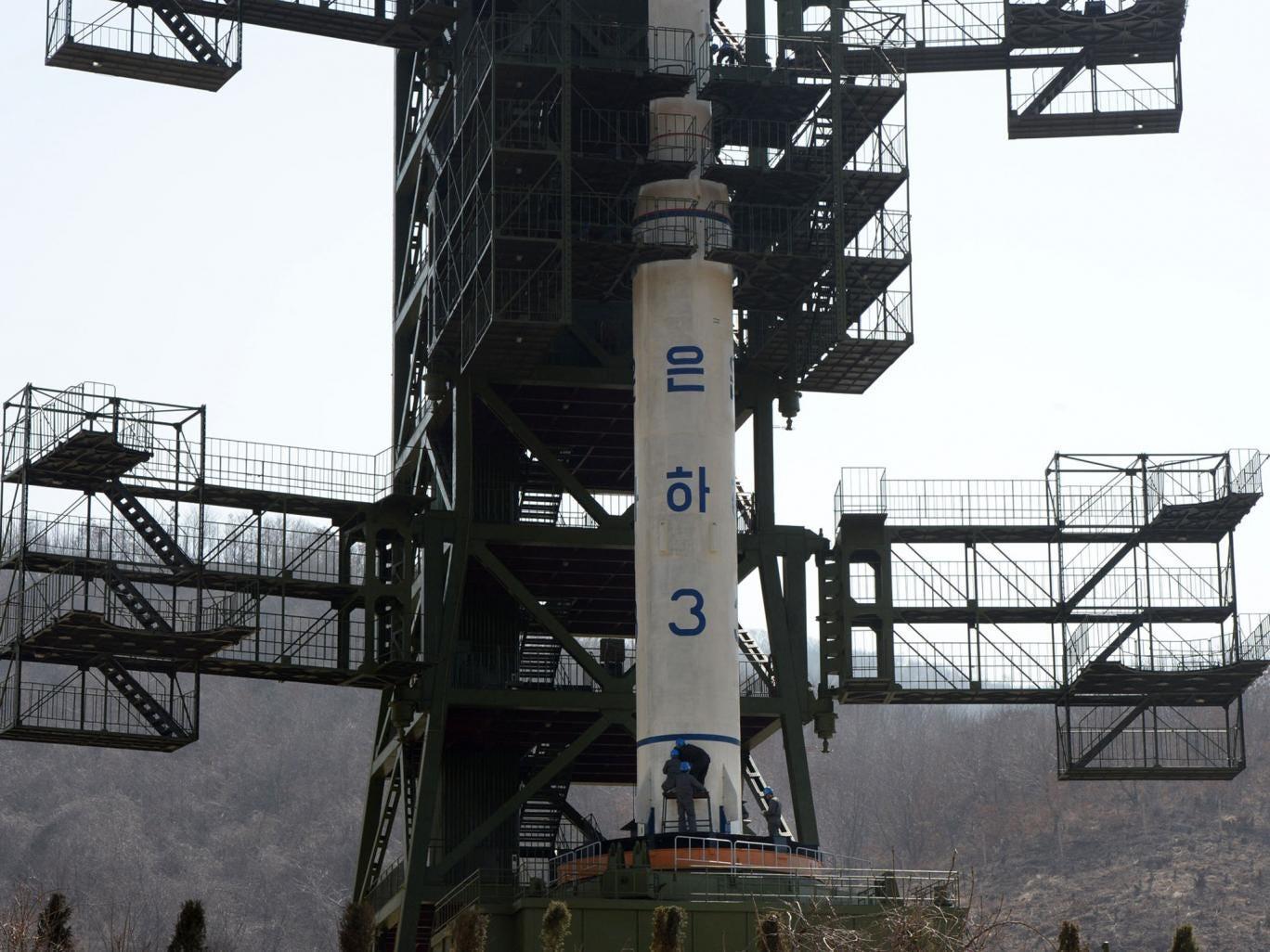 Tangachai -ri space centre, North Korea
