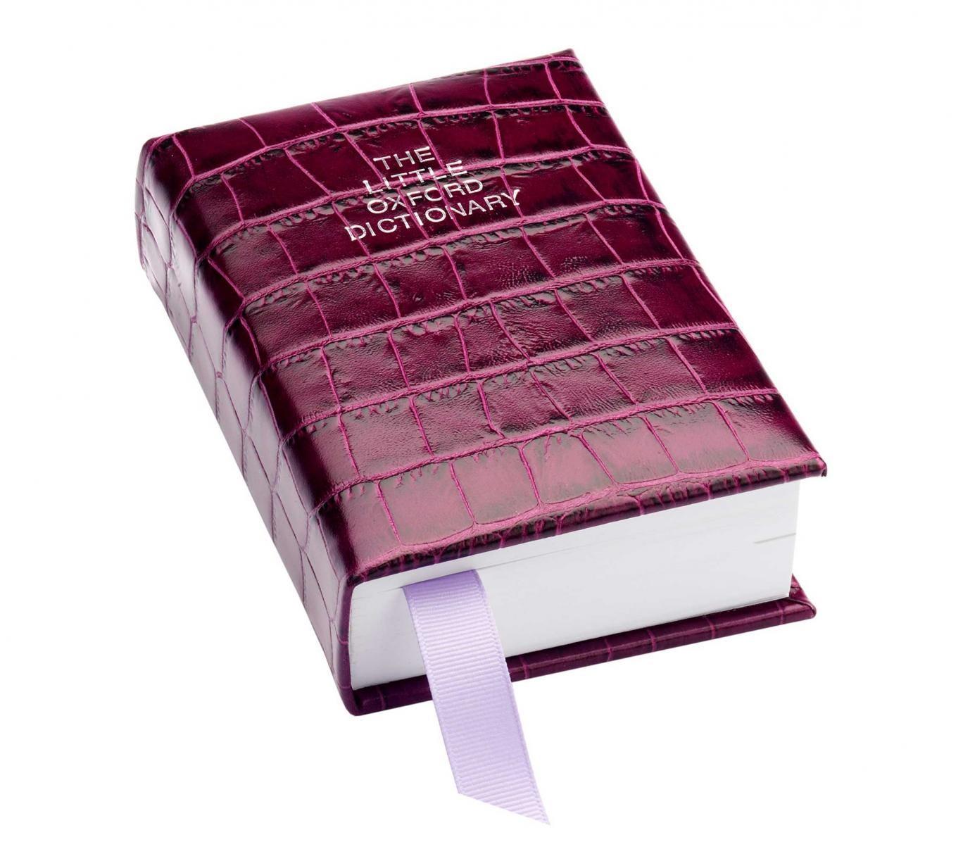 13. Mock croc 'Oxford English Dictionary', £55, Aspinal of London