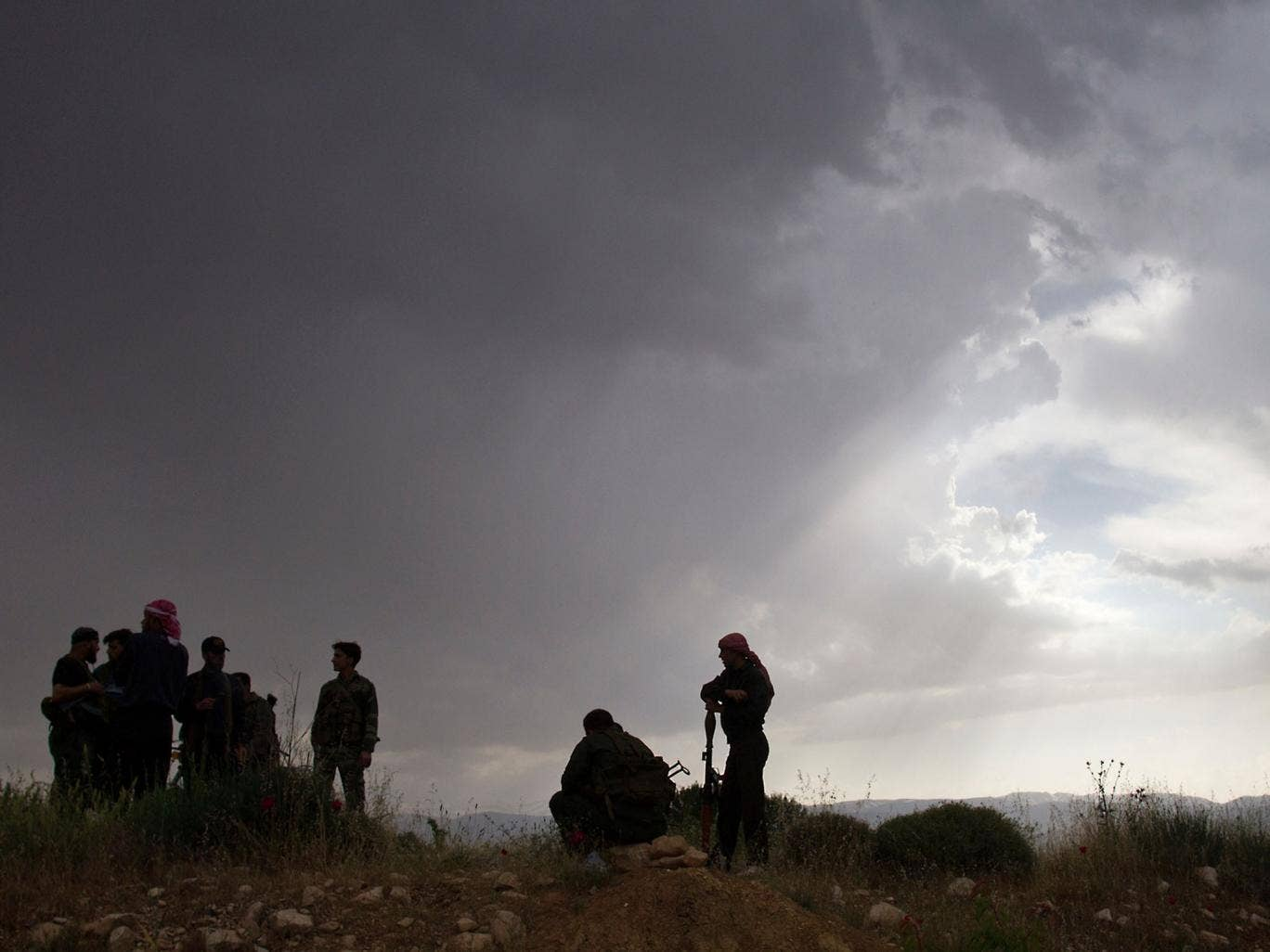Syrian rebels: Starting to use missiles