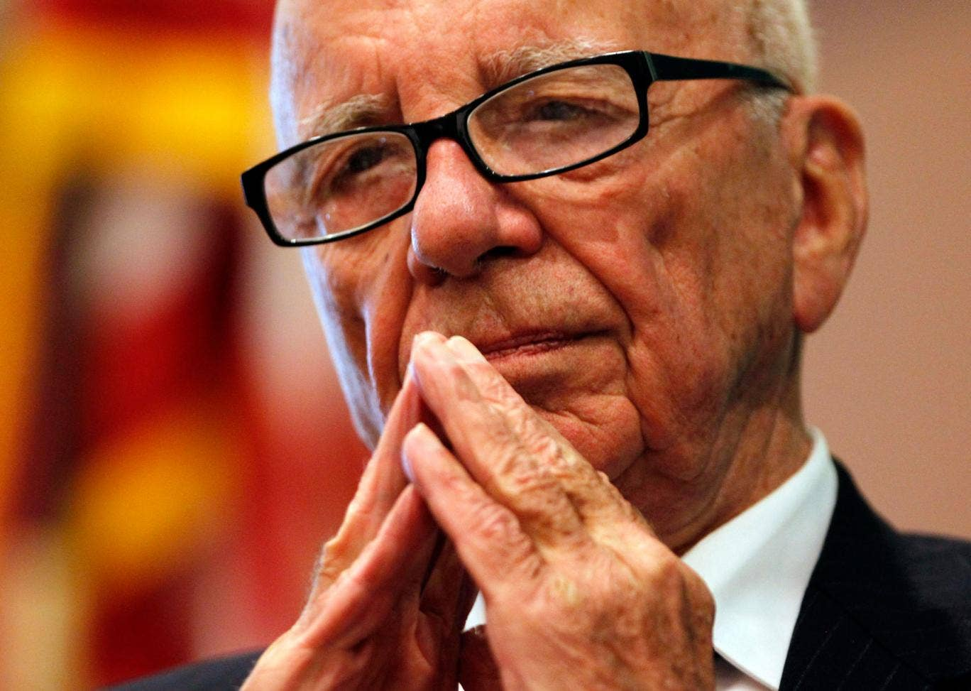 Turning the page? Rupert Murdoch