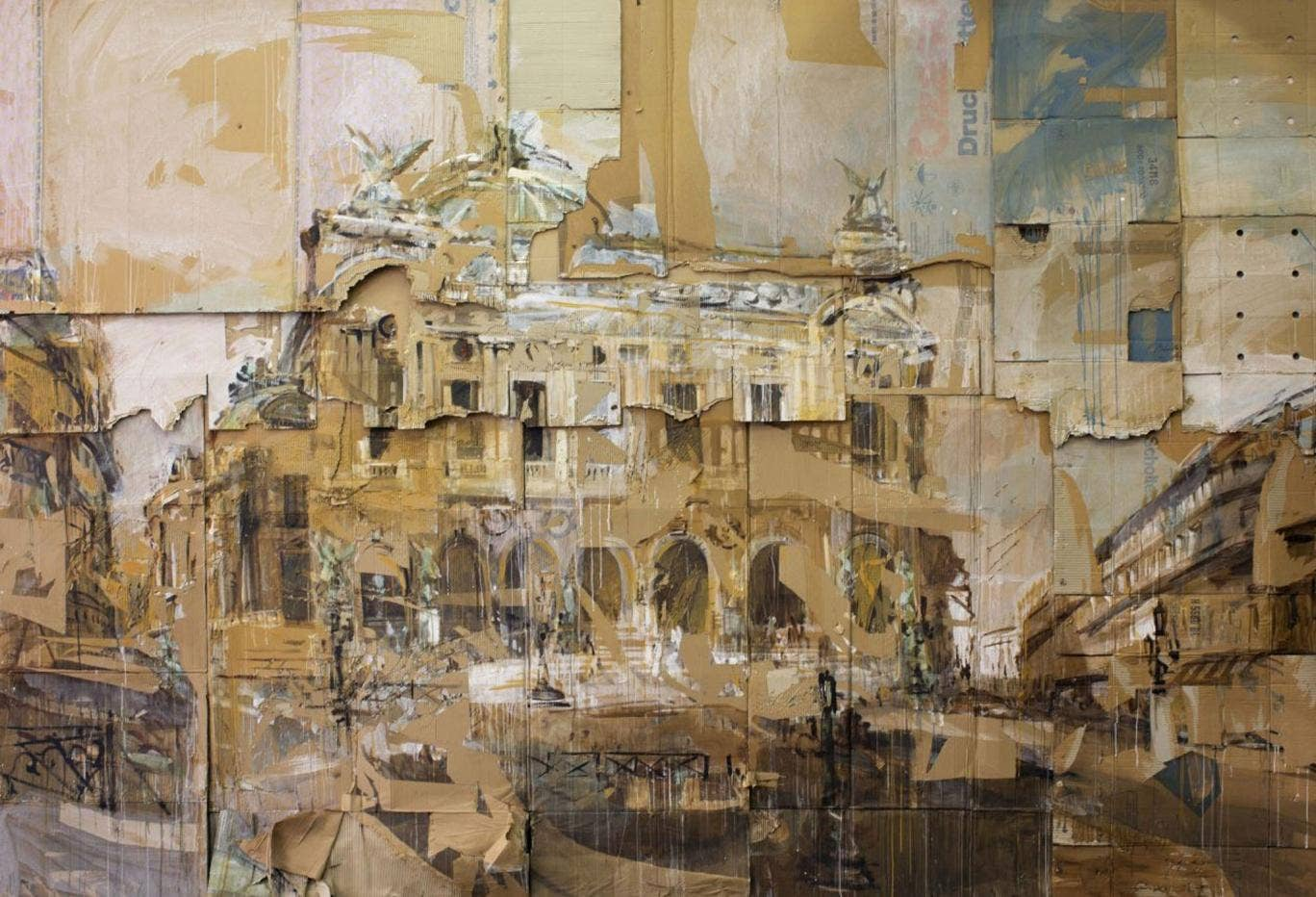 Paris by Valery Koshlyakov is one of the show's highlights