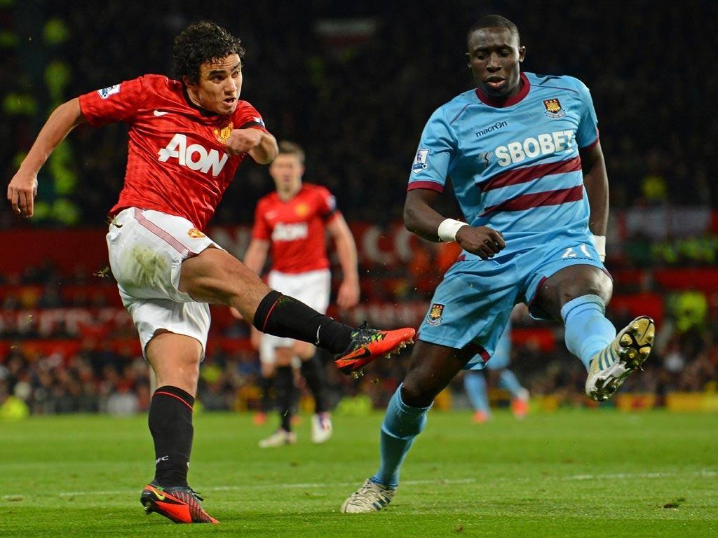 Rafael in action against West Ham