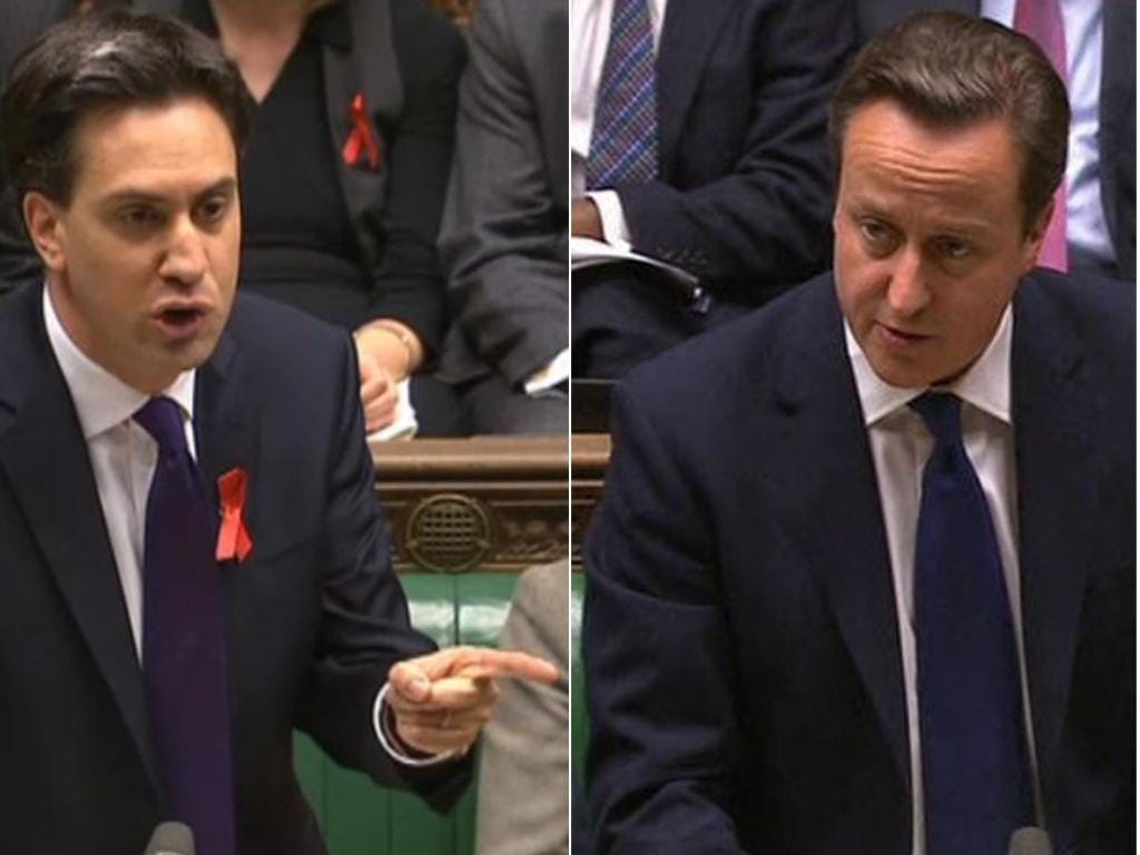 Ed Miliband is understandably insisting that if legislation is to be introduced at all, it must be done under David Cameron's Government