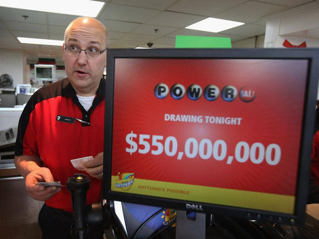 Powerball lottery tickets sold at 130,000 a minute